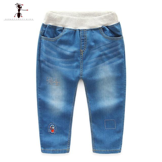 6b89888eb Denim Leggings for Boy Casual Home Famous Brand GFMY Autumn Kids Pants  Stonewashed Fashion Roupas Infantis