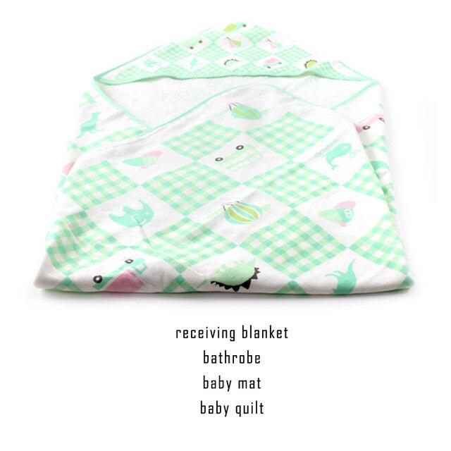 Guanze Махровое Полотенце детские одеяла новорожденных пеленать мантас пункт одеяло детское deken кувертюр bebe85 * 85 см С Капюшоном Receving Одеяла