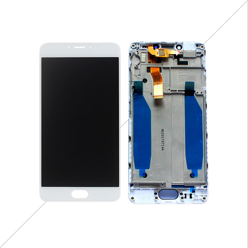 AICSRAD New LCD Display Replacement + Touch Screen Digitizer For Meizu M5C / Meilan 5C Black White Color Free Shipping