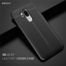For LG G7 Case Shockproof Luxury Leather TPU Cover For LG G7 Case Anti-knock Phone Case For LG G7 2018 G710 6.1 Funda BSNOVT е п бененсон а г паутова информатика и икт 3 класс тетрадь для самостоятельной работы