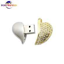 Pen Drive 16GB Heart-shaped Flash Drive Creative USB Flash Drive High Speed 2.0 Flash Disk for Perfect Memorial