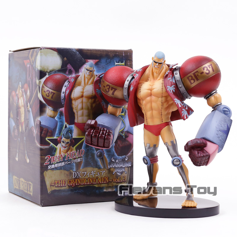 Banpresto One Piece The Grandline Men Franky DX Figure Figure Collectible Model Toy цена