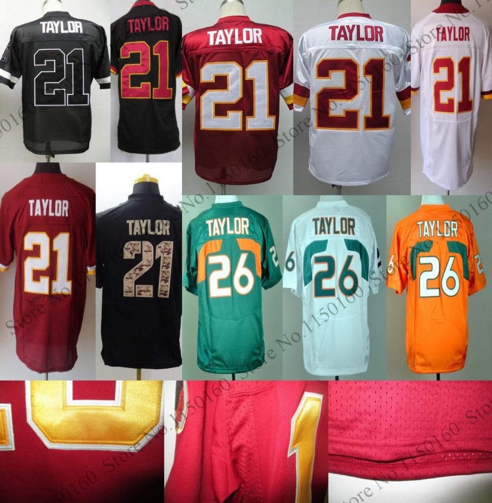 wholesale dealer 57e1c 9ac4d miami hurricanes 26 taylor green jersey