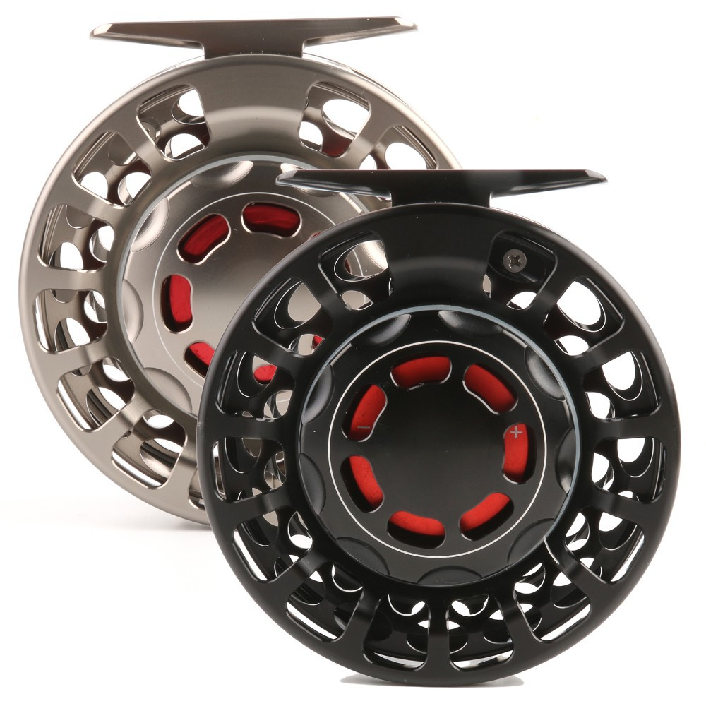 VX 9/11 WT Fly Reel 100% Waterproof Large Arbor Saltwater CNC Fly Fishing Reel