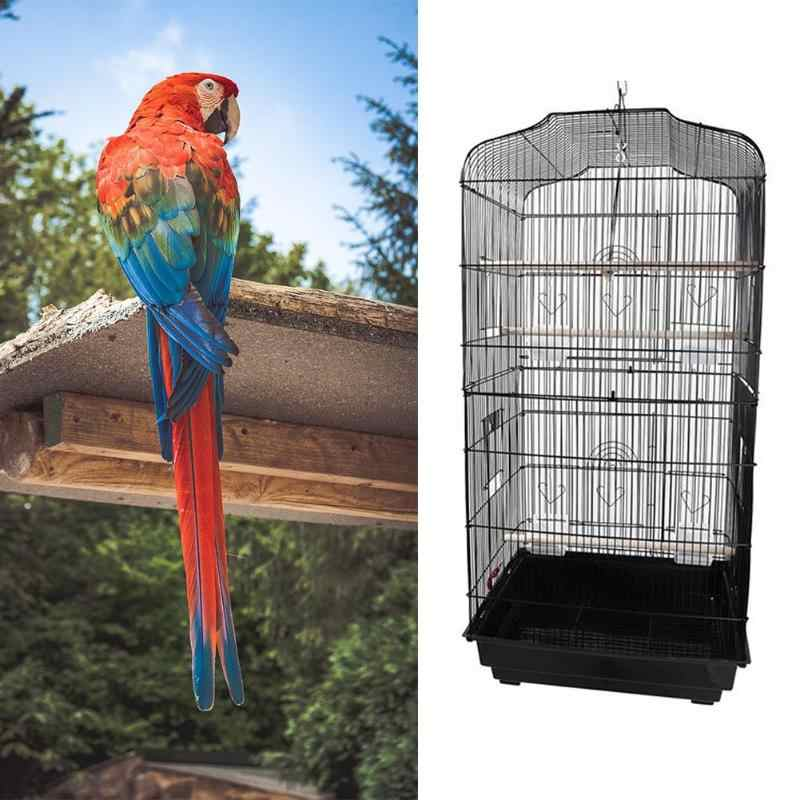 "37"" Bird Parrot Cage Canary Parakeet Cockatiel LoveBird Finch Bird Cage"