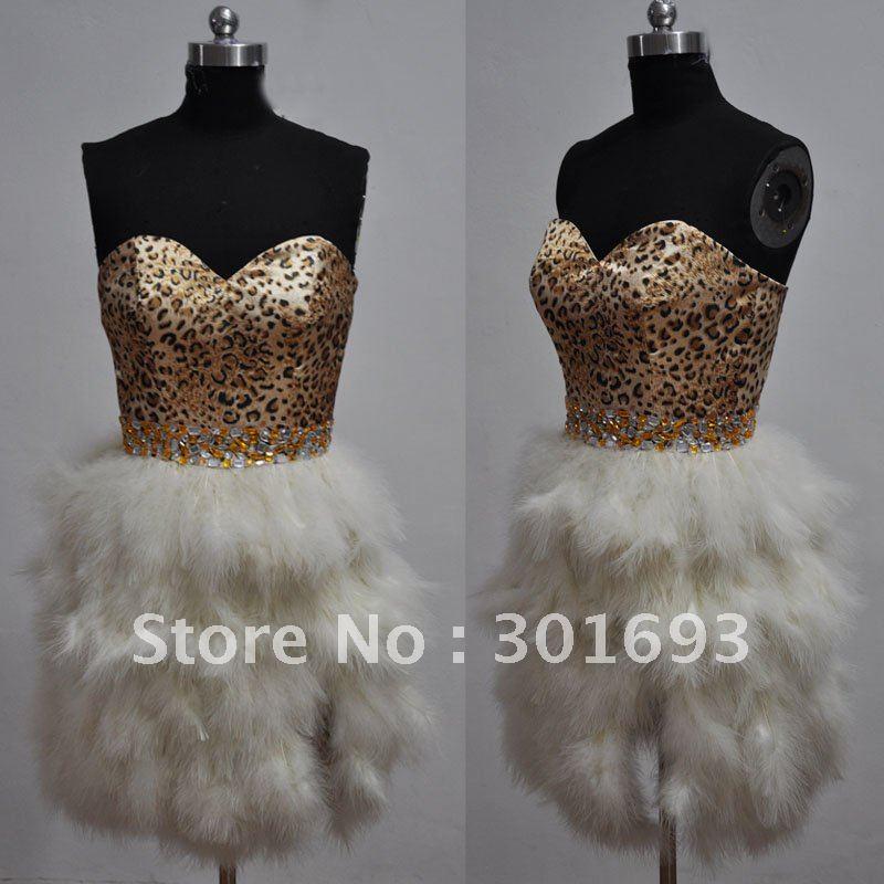 Popular Leopard Print Cocktail Dresses-Buy Cheap Leopard Print ...