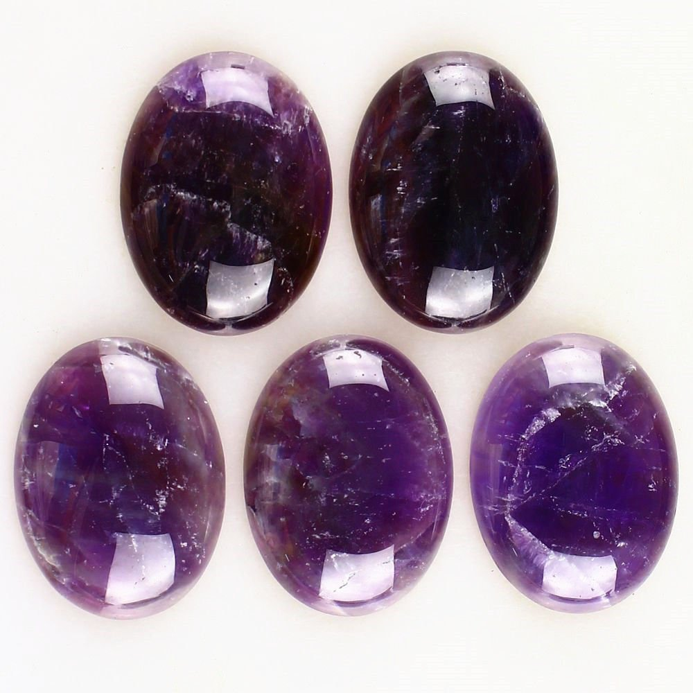 Натуральный камень каменный Агат e Кабошон бусины 22*30 мм плоское дно драгоценный камень каменный Кабошон для изготовления ювелирных изделий 10 шт./партия - Цвет: Amethyst 10pcs