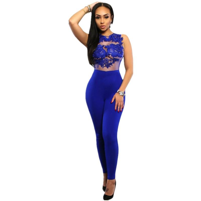 Royal-Blue-Mesh-Lace-Applique-Jumpsuit-LC64037-5