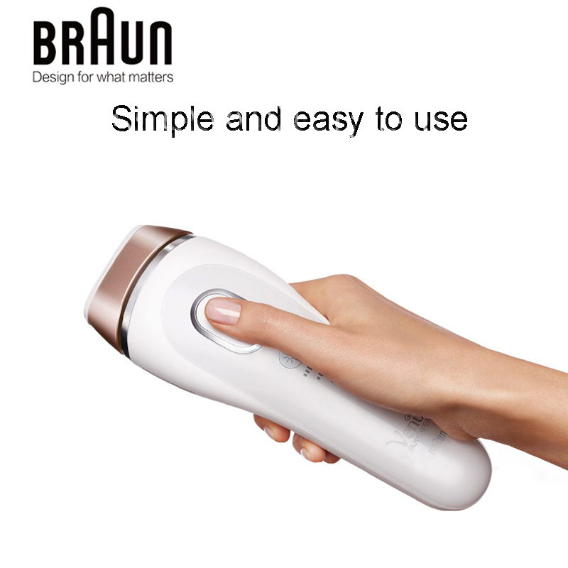 Braun Laser Epilator IPL 5001 Intense Pulsed Light Face Body Hair Removal System Chargeable