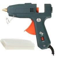 60W 100W Switchable Hot Melt Air Glue Gun US Plug High Temp Heater Repair Heat Tool