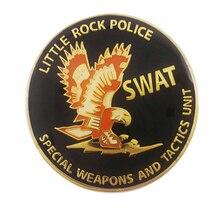 Manufacturer custom American military coin carving eagle logo Enamel K200269