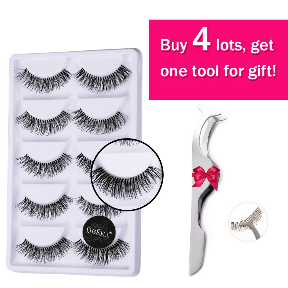 цена 30Pairs Natural Long False Eyelashes Posterior Hand Made Fake Eyelash Cilia Eye Lash Extensions Lengthening & Charming Lashes