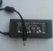 Envío libre FTTH CETC41 6471 6471A Empalme de Fusión de Fibra Óptica Fusionadora máquina adaptador de fuente de alimentación