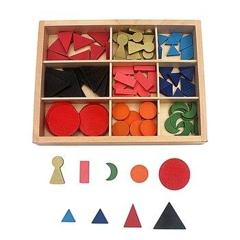 Giocattolo del bambino Grammatica di Base di Legno Montessori Simboli con la Scatola Educazione della Prima Infanzia Prescolare Formazione Per Bambini Brinquedos Juguetes