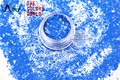 TCH310-H1 Bule Colors Mixed Hexagon Shape Solvent resistant Glitter Sequins for nail art  nail gel DIY decoration