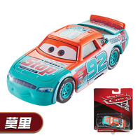 DISNEY PIXAR 3 Alloy Cars Model DXV29 Toy CARS Car King Lightning McQueen Mater McKowan Black