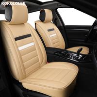 kokololee Universal Leather Car seat cover for MG all models MG7 MG5 MG6 MG3 ZS car accessorie car styling auto Cushion