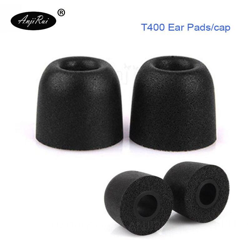 2 Pcs Anjirui T200 4.5mm Caliber Ear Pads Memory Foam Eartips T200 Tips Ear Pads For In-ear Earphone Tips Sponge Ear Cotton Consumer Electronics