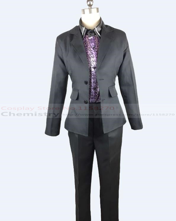 Final Fantasy XV Ignis Stupeo Scientia Cosplay Iggy Specs Costume