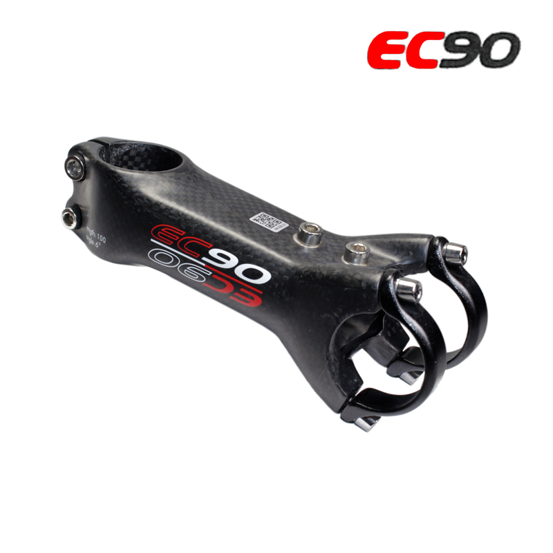 2019 new EC90 All carbon fiber Mountain Bike diameter / road bike stem / riser / MTB bicycle stem 31.6*28.6 / 6 degrees|full carbon fiber|mtb riser|mtb riser stem - title=