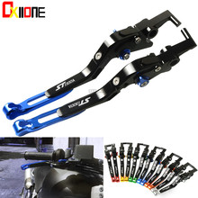 цена на CNC Aluminum Adjustable Folding Motorcycle Brake Clutch Levers for Honda ST1300 ST 1300 ST1300A ST1300 1300A 2003-2007 2005 2006