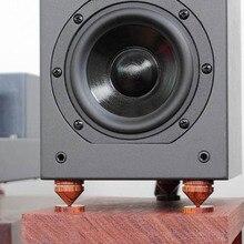 4 Set audio sequoia ammortizzatore Spikes per Gli Altoparlanti Decoder CD amp Migliorare il suono Amp altoparlante a cono