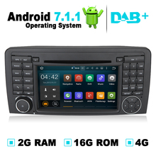 Android 7.1 Car DVD Player GPS Navigation System Stereo Media Audio Video Auto Radio For Mercedes Benz R280 R300 R350 R500 W251