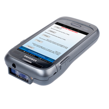 Generalscan GS SL2500S75 2D Imager Handheld Android Enterprise Barcode Sled For Warehouse Management