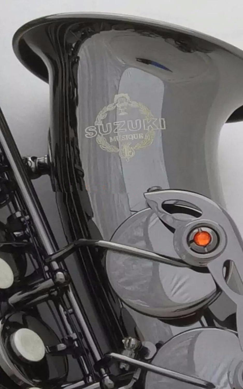 TOP suzuki  E-flat alto saxophone mouthpiece saxophone black nickel gold professional grade линейный массив alto sxa28p