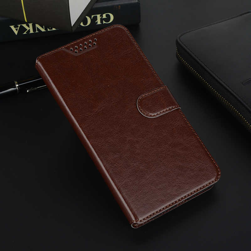 Zte ブレードの A1 A3 A5 プロ AF3 A6 Lite L3 L7 X5 D3 X3 A452 D2 V9 財布フリップ革電話バッグケースソフトシリコンカバー