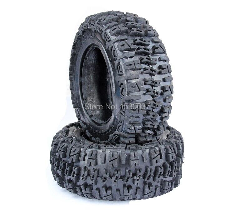 Подробнее о 1/5 RC Car Racing parts,Baja 5T knobby Front tire X 2pcs/set, free shipping 1 5 rc car parts front knobby wasteland wheel tire x 2pcs set for 1 5 scale hpi rovan baja 5t 5sc