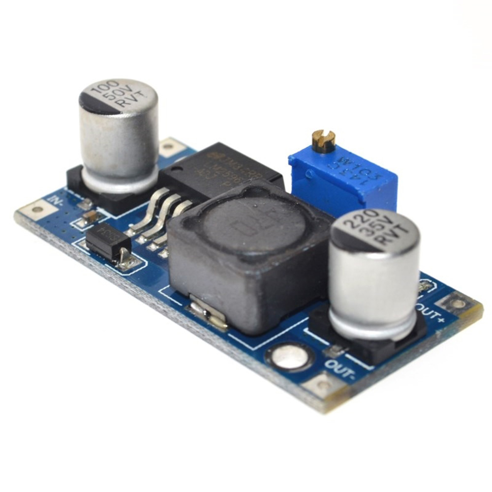 DC-DC LM2596 3.2V - 40V 3A Power Supply Buck Converter Step-down LM2596S Module