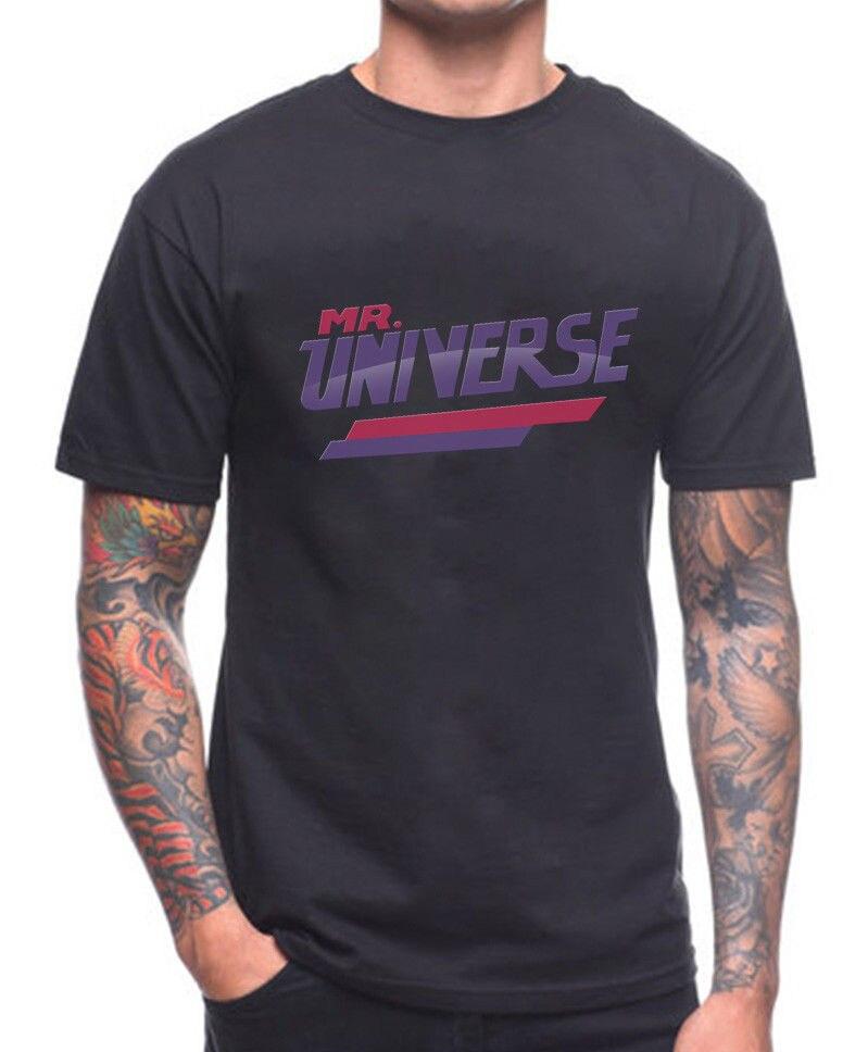 MR UNIVERSE T SHIRT STEVEN MT GREG TV SERIES SHOW New Shirts Funny Tops Tee Unisex free shipping