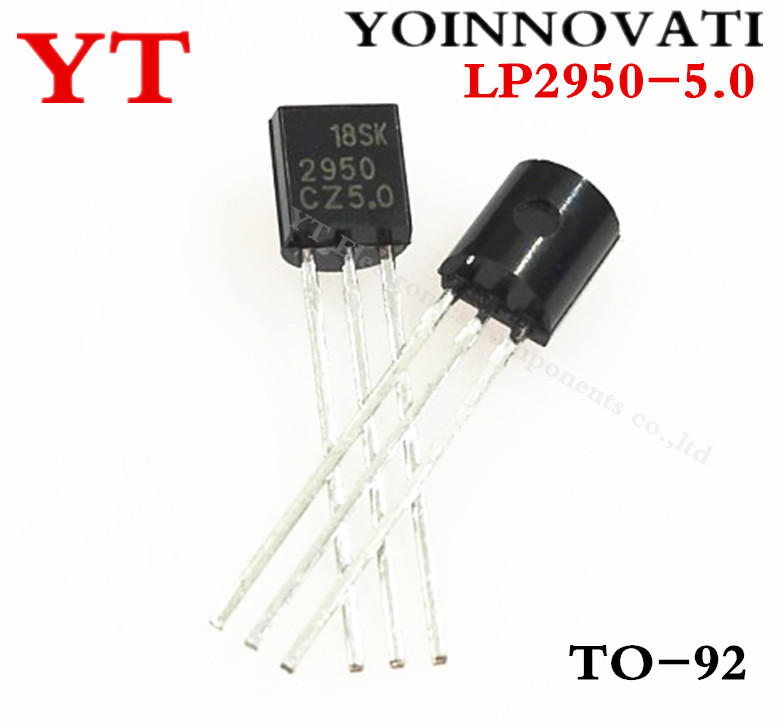 30PCS LP2950-3.3 IC REG LDO 3.3V 0.1A TO92 NEW