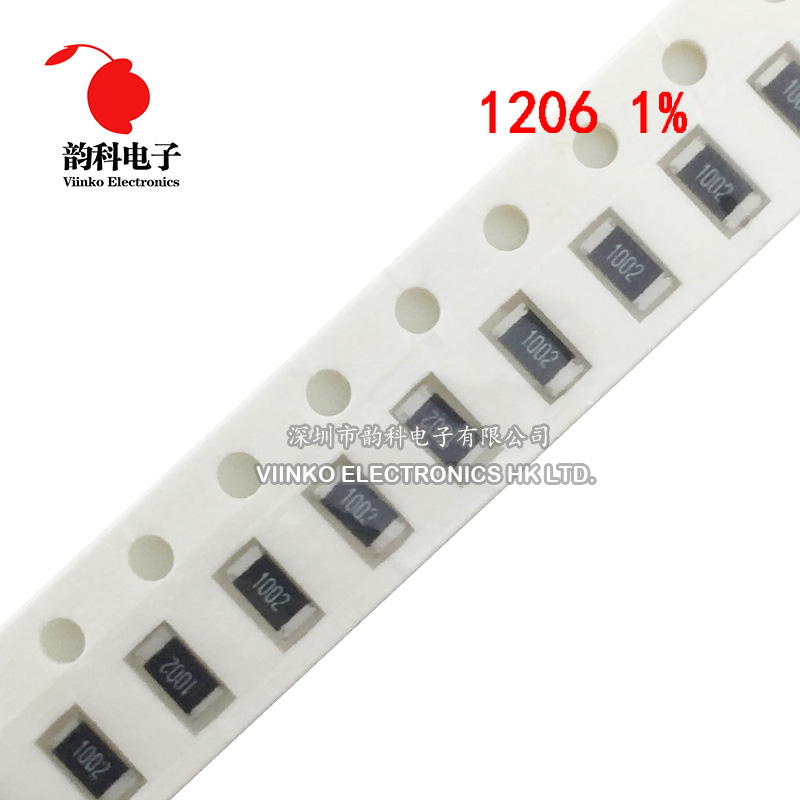 Choose from 1K-10M Free P/&P Surface Mounted Resistors SMR 1206-10 Pack