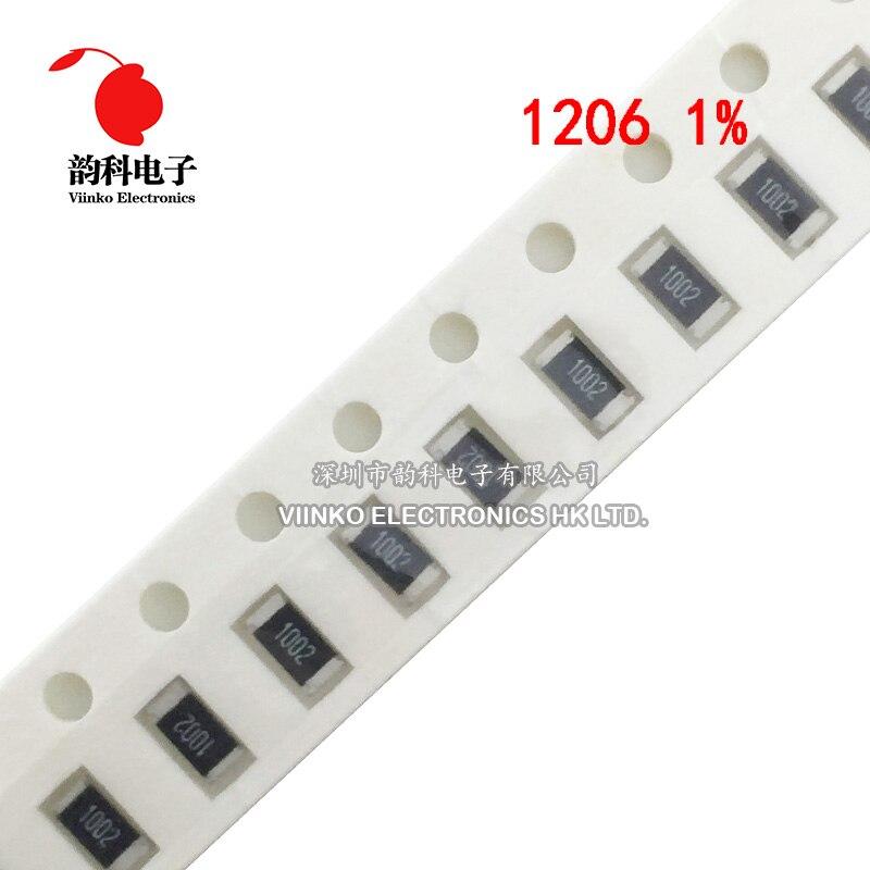 Screw 200 Pcs 0402 36K Ohm 1mm x 0.5mm Surface Mounted SMD Chip Resistors