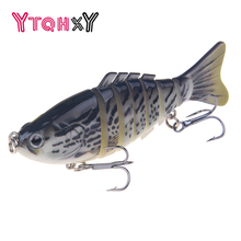 YTQHXY 1Pcs Swimbait Fishing Lure Quality Professional Hard Bait 100MM 16G Isca Artificial Lures Accessories Pesca WQ285