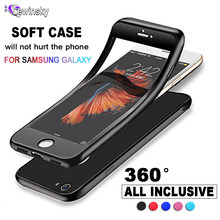 360 Full Cover Phone Case For Samsung Galaxy S9 S8 Plus Note 8 9 J6 A6 A8 2018 A3 A5 A7 J3 J5 J7 2016 2017 Protective Cover Case(China)