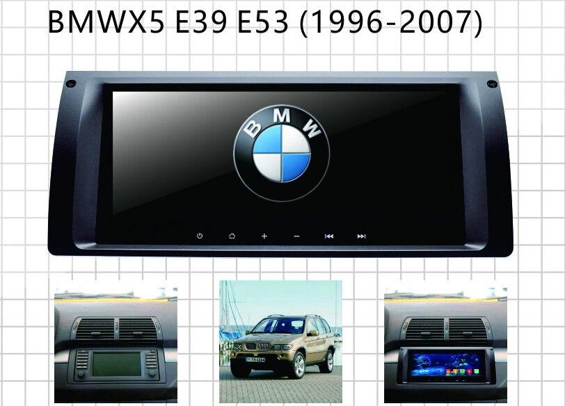 Sistema multimediale da auto per BMW E39 E53 BMW X5 android gps auto radio per auto navigatore per con RDS rubrica telefonica specchio link mappa gratuita