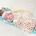 Handmade Crochet Knit Hollow Blanket Wrap Photography Newborn Popular Photographic Props Baby Blankets White 20 Color 40*80CM