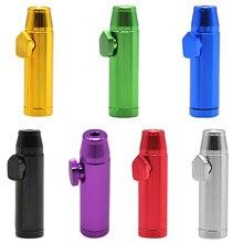 Snuff-Dispenser Snorter Sniffer Bullet Metal 1pc Rocket 16mmx47mm Sunff Plastic/19mmx53mm