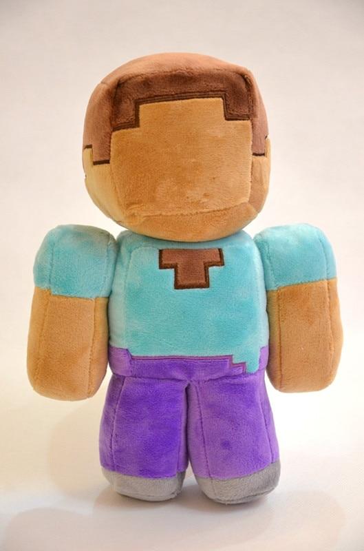 Fashion Children Soft Plush Toy Brown 18cm7 Minecraft