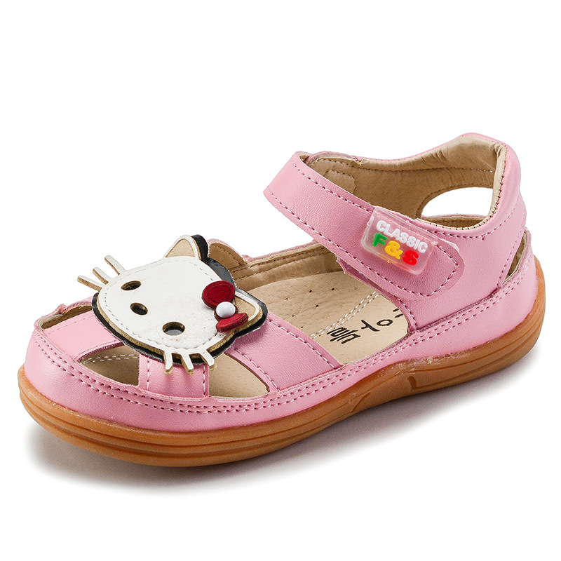 2017 children sandals shoes fashion causal flat with baby ...