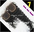 8A Cabelo Brasileiro Virgem Cabelo Onda Profunda 4x4 Top Lace Encerramento Lace Fechamento Frontal Virgem Peruano Onda Profunda Pedaço de cabelo
