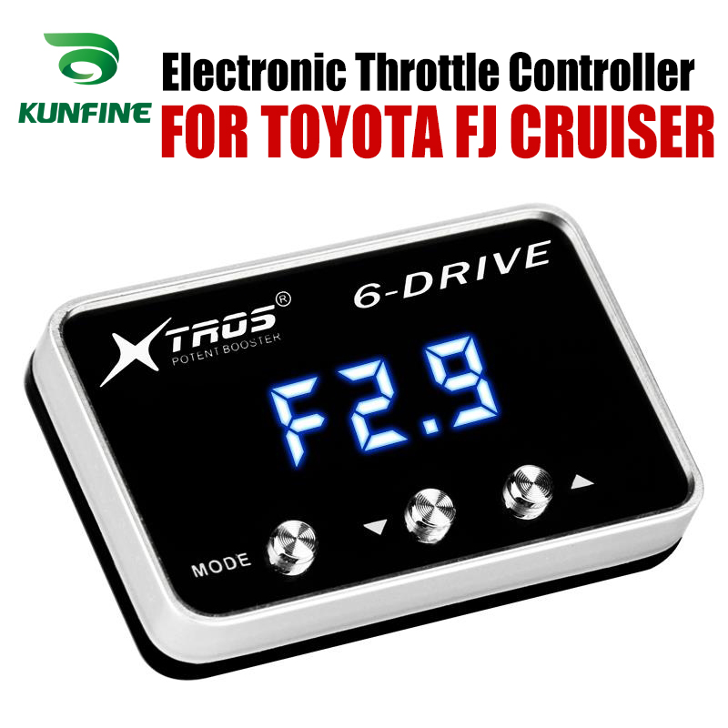車電子スロットルコントローラレースアクセル強力なブースタートヨタ FJ クルーザーチューニングパーツアクセサリー