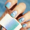 Мода 8 шт./лот Nail Art Оборудование Простой DIY Изменение Цвета Губка Ногтей Creative Nail Инструменты