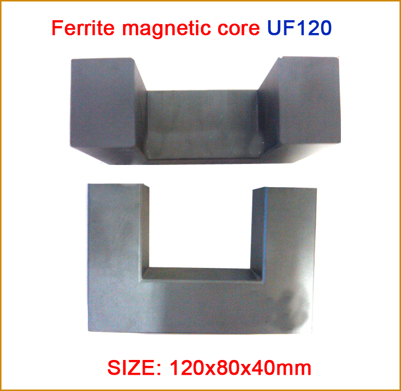 Ferrite magnetic core UF120, manganese zinc super power, special for welder's transformer zinc oxide and manganese doped zinc oxide nanoparticles