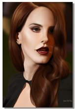f93a86b404d62 Custom Canvas Wall Decal Lana Del Rey Poster Lana Del Rey Wall Paintings Sexy  Sticker Mural Pinup Girl Cafe Bar Wallpaper  0283