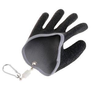 Image 5 - 1PC Non Slip Latex Vissen Handschoenen Met Magneet Release Visser Beschermen Hand Vis Grab Anti Skid Capture Veiligheid Hand handschoenen