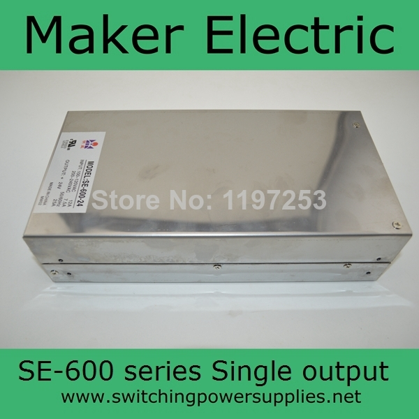 Factory outlet 600W SE series power supply 12v 600w SE-600-12 вибратор sex factory 12 uitra